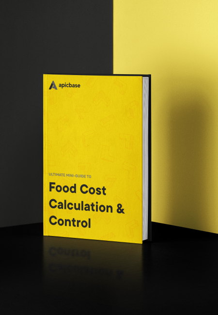 Mini guide on food cost calculation & food cost control