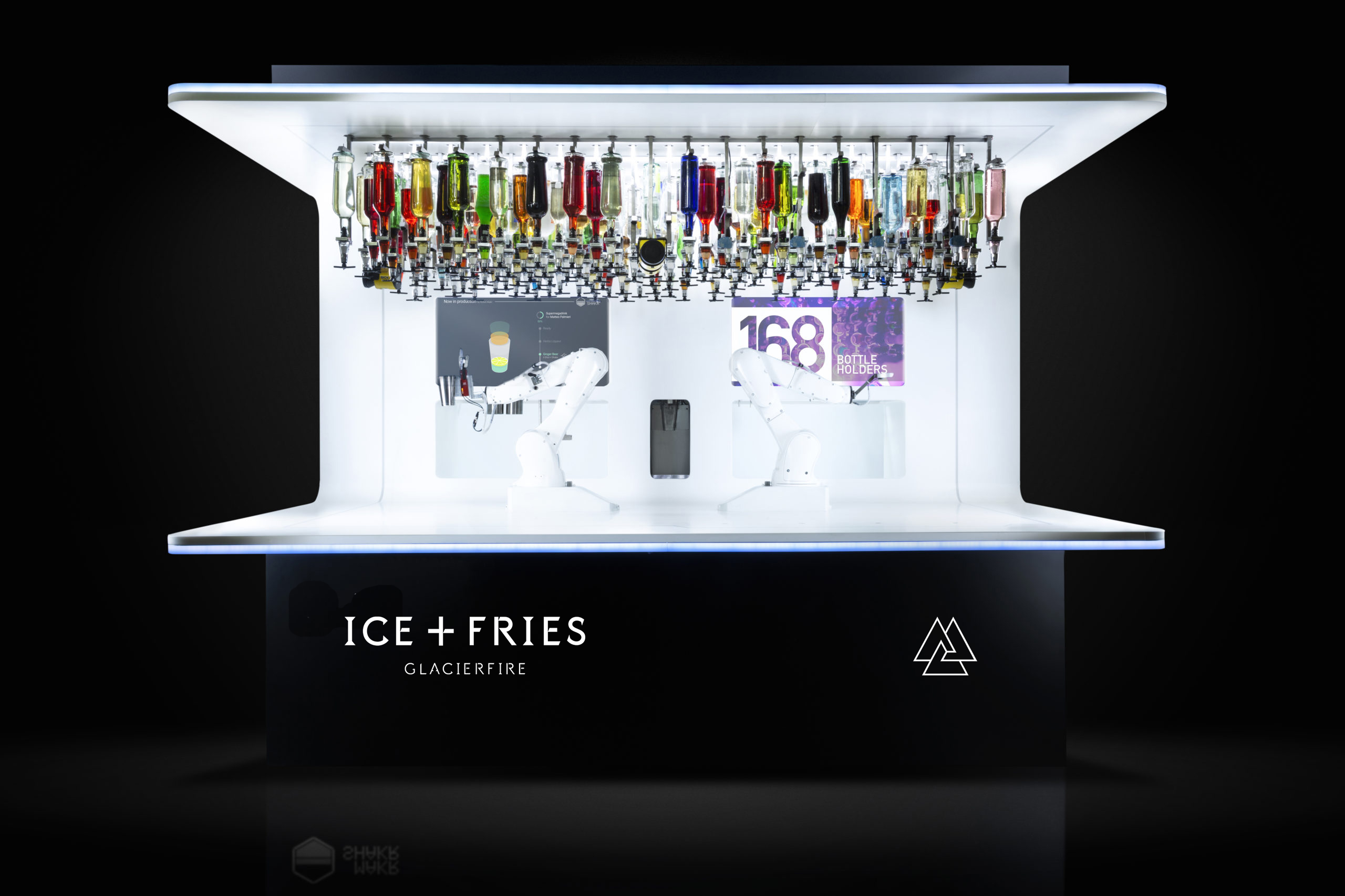 Ice + Fries bionic street food bar in Iceland