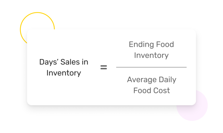 How to Calculate Your Restaurant's Days' Sales in Inventory